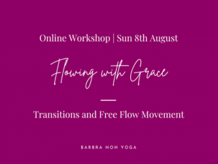 Flowing with Grace: Transitions and Free Flow Movement Barbra